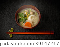 zoni, japanese new year soup, new year 39147217