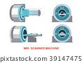 MRI scanner machine technology and diagnostics 39147475