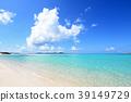 Beautiful beach of Okinawa 39149729