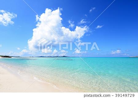 沖繩美麗的海灘 39149729