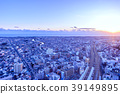 Townscape of dusk 39149895