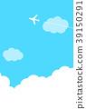 飛機 天空 雲彩 39150291