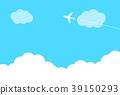 飛機 天空 雲彩 39150293