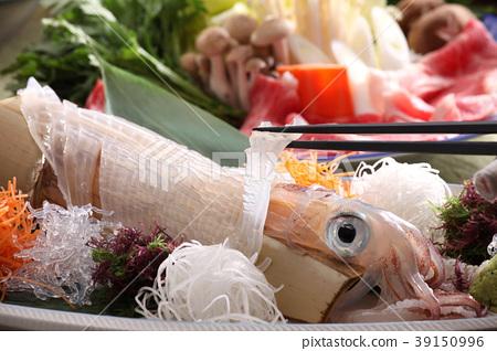 음식 해산물 요리 일본 요리 오징어 회 오징어 회가 살아 구조 오징어가 살아 구조 신선한 해산물 39150996
