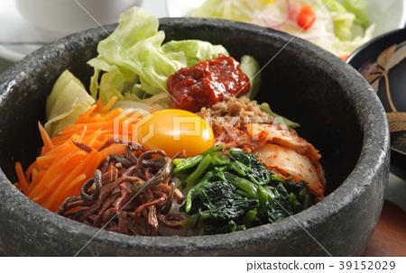 한국 요리 비빔밥 덮밥 덮밥 한국 고추장 정식 매운 요리 밥 39152029