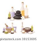 Spa vector icons treatment beauty procedures 39153695