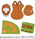 棒球 向量 向量圖 39153761