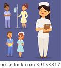 doctor nurse vector 39153817