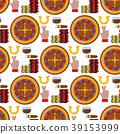 vector, illustration, casino 39153999
