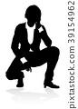 Silhouette Business Person 39154962