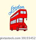 london, symbol, vector 39155452