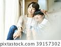父母身份 父母和小孩 妈妈 39157302
