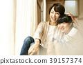 父母身份 父母和小孩 小学生 39157374