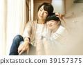 父母身份 父母和小孩 小学生 39157375