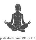 meditation, yoga, pose 39159311