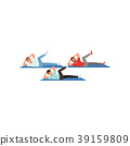 vector, workout, training 39159809
