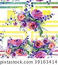 flora, rose, watercolor 39163414