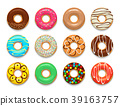 donut, sweet, cartoon 39163757
