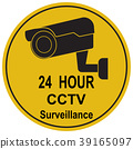 Security CCTV camera watch icon illustration 39165097