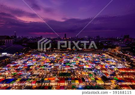 夜市場在曼谷,泰國 39168115