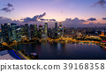 小艇停靠灣 新加坡 海 39168358