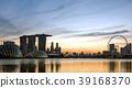 小艇停靠灣 新加坡 城市 39168370