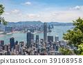 Hong Kong scenery seen from Victoria Peak 39168958
