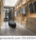 modern wardrobe nice tone wood walk in closet 39169564