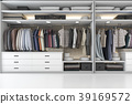modern wardrobe nice tone wood walk in closet 39169572