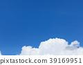 적란운, 구름, 푸른 하늘 39169951