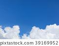 적란운, 구름, 푸른 하늘 39169952