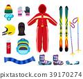 skiing, equipment, winter 39170274