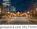 도쿄역 마루 노우치 역사의 야경 39173444