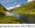 View of Oberalpsee in Oberalppass, Switzerland 39176013