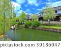 Boat rush in Kurashiki Aichi district 39186047