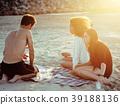 beach, female, group 39188136