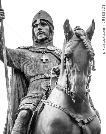 Detailed view od Statue of Saint Wenceslas 39188521
