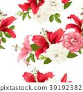 vector, floral, wedding 39192382