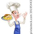 大厨 主厨 烤肉串 39195443
