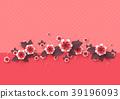 flower decorative vector 39196093