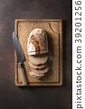 Artisan rye bread 39201256