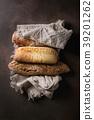 Variety of Artisan bread 39201262