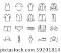 Men clothes icon set 39201814