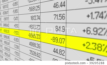 Company data in business accounting software 39205288