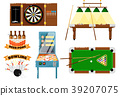 Active leisure and sports game set 39207075