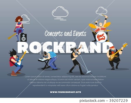 Concerts and events rockband banner 39207229