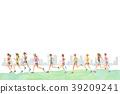 慢跑 奔跑 跑步 39209241