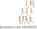 jogging, run, jogger 39209242
