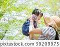 父母和小孩 親子 媽媽 39209975