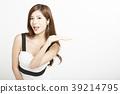 女性肖像系列手標誌 39214795